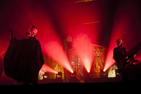Ghostin lavashow on teatraalinen. Kuva: Tuukka Pakarinen