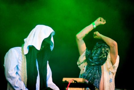 Tähtiportti esiintyi lauantaina Soundin lavalla. Kuva: Camilla Hanhirova