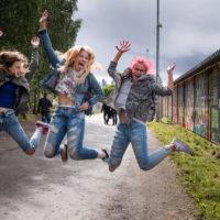 Innolla kohti festarialuetta. Kuva: Markus Korpi-Hallila