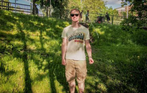 Tuomas Seppäsellä on hymy herkässä, kun edessä on elämän ensimmäinen Ilosaarirock.