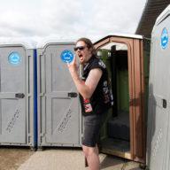 Ilosaarirock 2017: Holy Pooper – the Dio toilet.